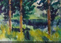 Akvarell 40x30 cm